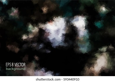 Abstract vector colored background.