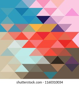 Abstract vector colorful background with different wonderful polygons. Example for web design, posters and business cards.