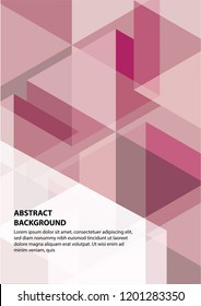 abstract vector cover design template. Future geometric gradient background. Vector templates for placards, banners, flyers, presentations and reports