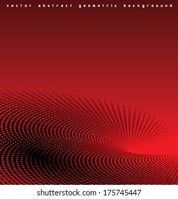 Abstract vector dotted background.
