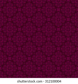 Abstract Vector Elegance and Gorgeous Seamless pattern background.