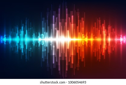 Abstract vector futuristic high digital technology concept. background illustration