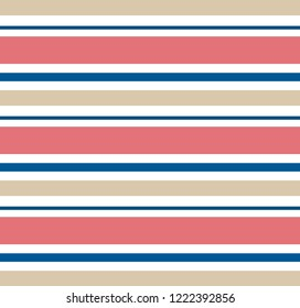 Abstract vector geometric background.Horizontal striped.Print for interior design and fabric