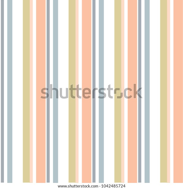 Abstract vector geometric seamless pattern. Vertical stripes. Monochrome background. Wrapping paper. Print for interior design and fabric. Kids background. Backdrop in vintage and retro style.
