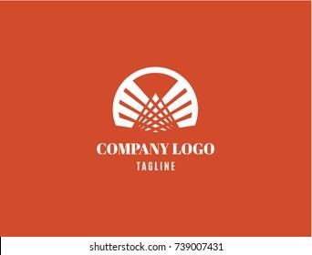 Abstract  Vector graphic creative Company Logo, Print, Digital, Icon, Apps.