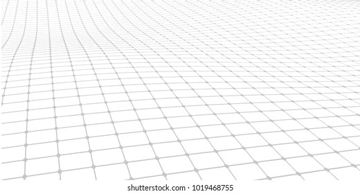 Abstract vector grid background. Array of dots modern graphic template. Black and white Dotted texture.