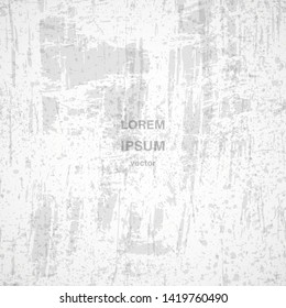 Abstract vector grunge texture ripped