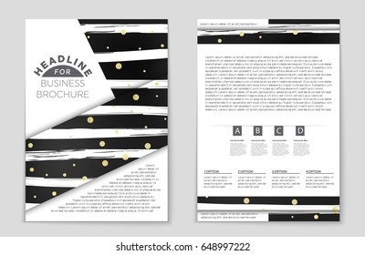 website vector template modern retro design stock vector royalty