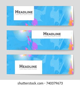 Abstract vector layout background set. For art template design, list, front page, mockup brochure theme style, banner, idea, cover, booklet, print, flyer, book, blank, card, ad, sign, sheet, a4