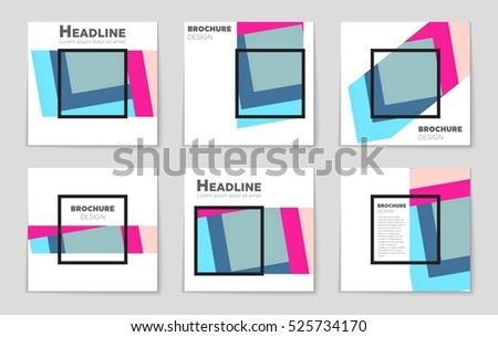 abstract vector layout background web mobile stock vector royalty