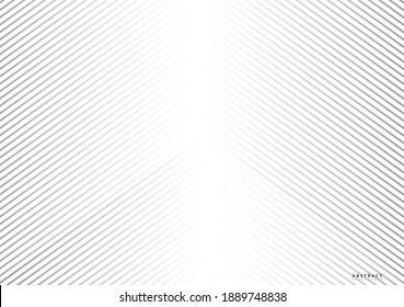 Abstract vector line pattern. Geometric texture background. EPS10 - Illustration
