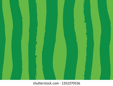Abstract vector lines background. Green palette dry brush stroke lines.