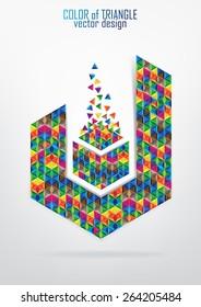 Abstract vector logo design
