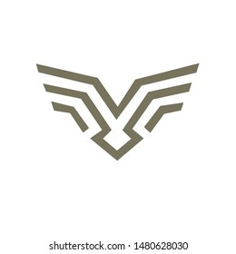 Abstract Vector Logo Design Template. symbol of the Creative Industry Concept