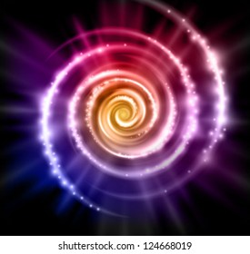 abstract vector magic background