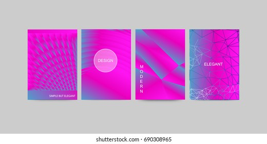 Abstract vector modern flyers brochure / annual report /design templates / future Poster template design