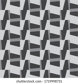 Abstract vector monochrome background. Halftone illustration pattern