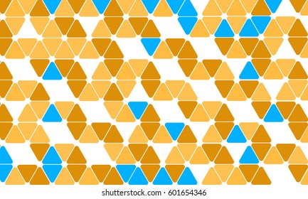 Abstract  vector pattern with traingles background