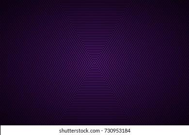 Abstract vector purple black hexagonal background, simple modern design