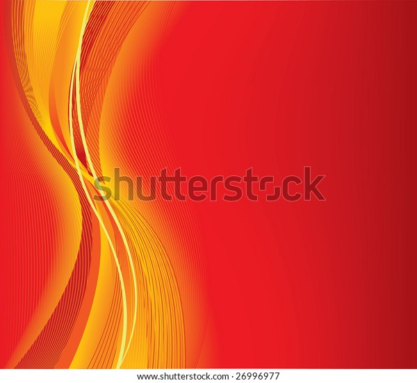 Abstract vector red background