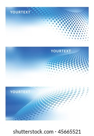 abstract vector set of graphic design templates