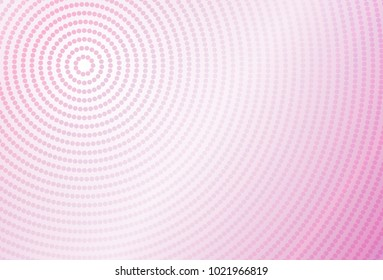 abstract vector spiral dot connect with pantone violet color background