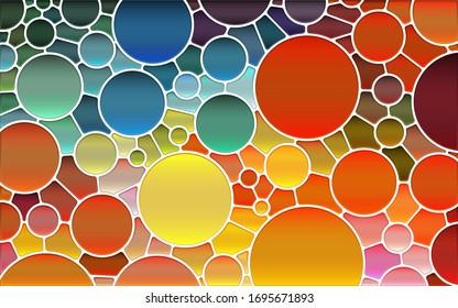 Multi Color Geometrical