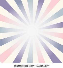 Abstract vector sunburst background