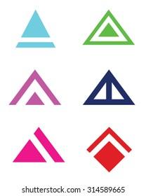 Abstract Vector Triangle and Arrowhead Set