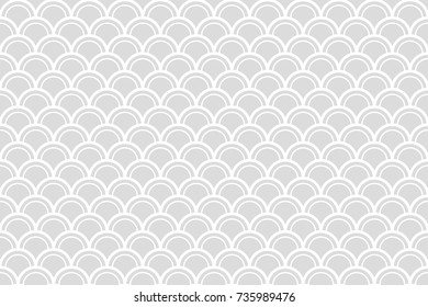Abstract vector wave line.