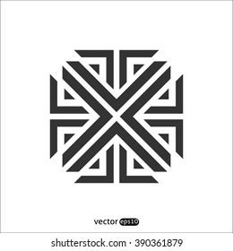 Abstract vector X  icon