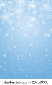 abstract vertical christmas background with snowflakes ez canvas