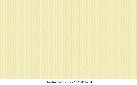 Abstract vertical stripe of pattern vector. Design line light cream on cream background. Design print for illustration, textile, wallpaper, background. Set 4