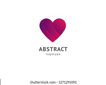 Abstract vetor logo vector design. Sign for business, Logo design care vector template. Modern decorative geometric icon.