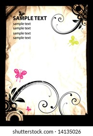 Abstract vintage background for design.