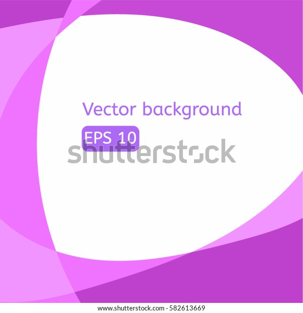 Abstract violet background with lines in frame eps10