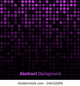 Abstract Violet Background, vector illustration