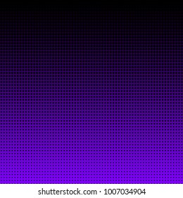 Abstract violet halftone background vector