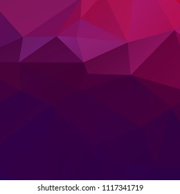 Abstract violet polygon texture background