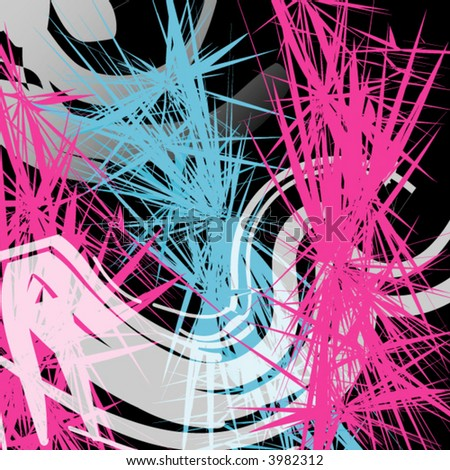 Abstract Wallpaper Black And Pink Vector