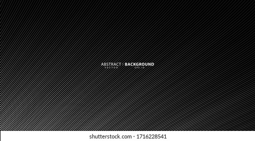 Abstract warped background, vector template for your ideas, monochromatic lines texture, waved lines texture. Brand new style for your business design