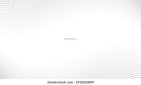 Abstract warped Diagonal Striped Background. Vector curved twisted slanting, waved lines pattern. Brand new style for your business design