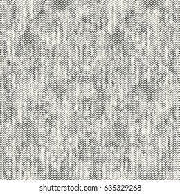Abstract washed effect herringbone motif textured background. Seamless pattern.