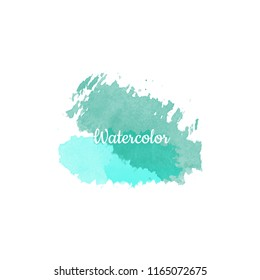 Abstract watercolor background.