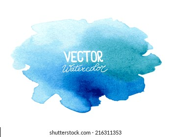 Abstract watercolor background for your design. Eps 8 vector. Original raster image: ID 259542872