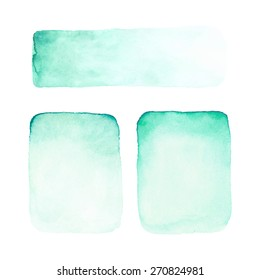 Abstract watercolor backgrounds.