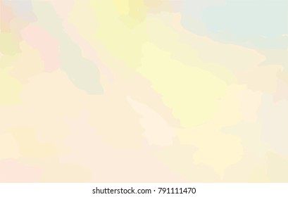 Abstract watercolor sky background in pastel colors