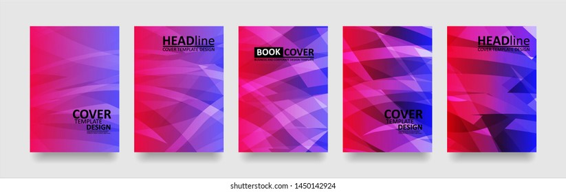 abstract wave background with gradient color. Applicable for design cover, presentation, invitation, flyer, annual report, poster and business card, desing packaging - Vector