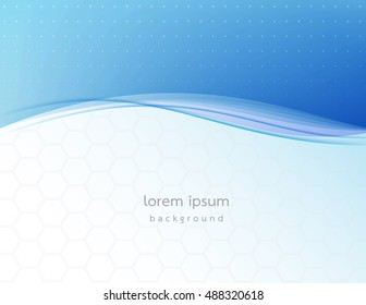 abstract wave design background.
