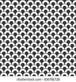 abstract wave pattern. seamless vector background.